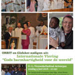 Zo 5 juni: Internationale Viering