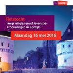 16/5: Fietstocht levensbeschouwelijke en religieuze diversiteit in Kortrijk