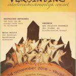 24/11 Derde Interlevensbeschouwelijk concert van Zingeven Verbindt Antwerpen