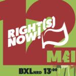 12/5  RIGHTS NOW! Op straat voor een menswaardig leven.